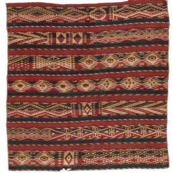 "Semi-Antique Afghan Kilim 5'1""×5'4"""