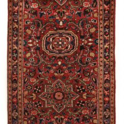 "Semi-Antique Ahor Rug 3'9""×3'0"""