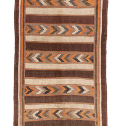 "Semi-Antique Belouchi Kilim 5'0""×11'3"""