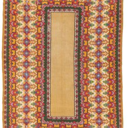 "Semi-Antique Bessarabian Romanian Kilim 6'0""×10'0"""