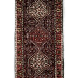 "Semi-Antique Bidjar Rug 2'10""×8'6"""