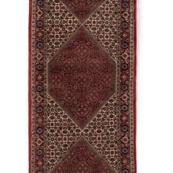 "Semi-Antique Bidjar Rug 2'10""×9'7"""