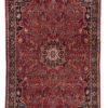 "Semi-Antique Bidjar Rug 4'9""×7'10"""