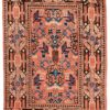 "Semi-Antique Central Asian Khotan 4'2""×6'4"""