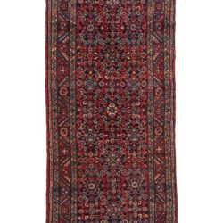 "Semi-Antique Hamadan Rug 3'7""×16'3"""