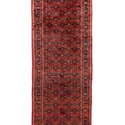 "Semi-Antique Hamadan Rug 3'8""×17'3"""
