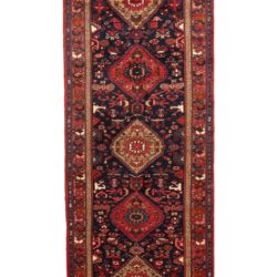 "Semi-Antique Hamadan Rug 3'6""×13'5"""