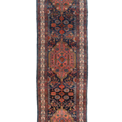 "Semi-Antique Hamadan Runner 2'9""×17'10"""