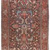 """Semi-Antique Hand Knotted Heriz Rug 8'9""""×11'10"""""""