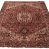 "Semi-Antique Heriz Rug 8'7""×11'2"""