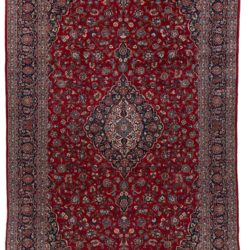 "Semi-Antique Kashan Rug 9'7""×16'3"""