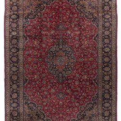 """Semi-Antique Meshad Rug 13'5""""×19'9"""""""