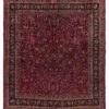 "Semi-Antique Meshad Rug 11'7""×13'1"""