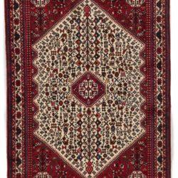 "Semi-Antique Persian Abadeh 3'5""×4'11"""