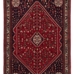 "Semi-Antique Persian Abadeh 3'5""×5'1"""