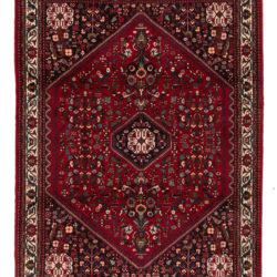 "Semi-Antique Persian Abadeh 5'2""×6'11"""