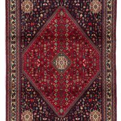 "Semi-Antique Persian Abadeh 4'9""×6'6"""