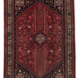 "Semi-Antique Persian Abadeh 3'4""×5'1"""