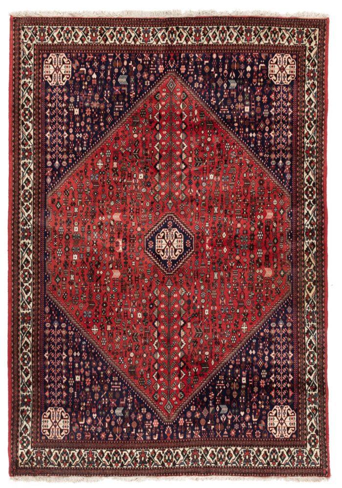 """Semi-Antique Persian Abadei Rug 6'8""""×9'7"""""""