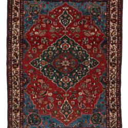 "Semi-Antique Persian Bakhtiari 5'1""×8'2"""