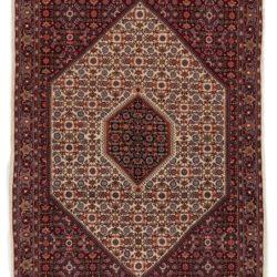 """Semi-Antique Persian Bidjar 3'9""""×5'3"""""""