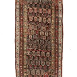 """Semi-Antique Persian Bidjar 4'6""""×11'9"""""""