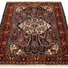 "Semi-Antique Persian Borchalu 4'7""×6'6"""