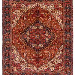 "Semi-Antique Persian Heriz 11'3""×13'4"""