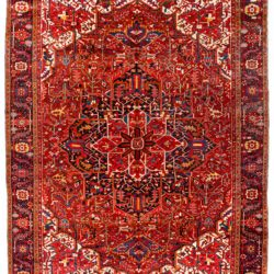 "Semi-Antique Persian Heriz 11'7""×15'1"""