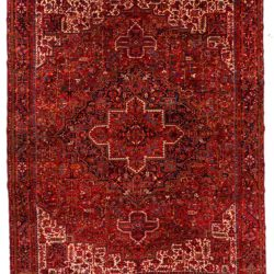"Semi-Antique Persian Heriz 11'11""×15'0"""