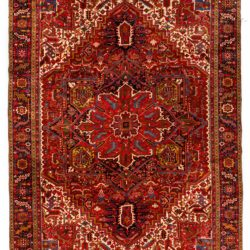 "Semi-Antique Persian Heriz 11'8""×15'4"""