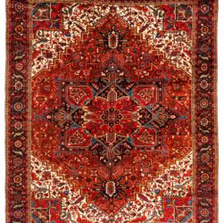 "Semi-Antique Persian Heriz 11'8""×14'6"""