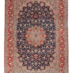 "Semi-Antique Persian Isfahan 6'7""×10'0"""