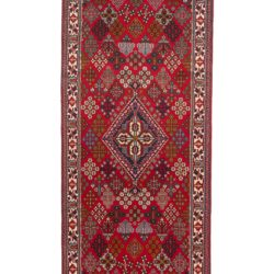 "Semi-Antique Persian Joshegan 3'6""×13'8"""