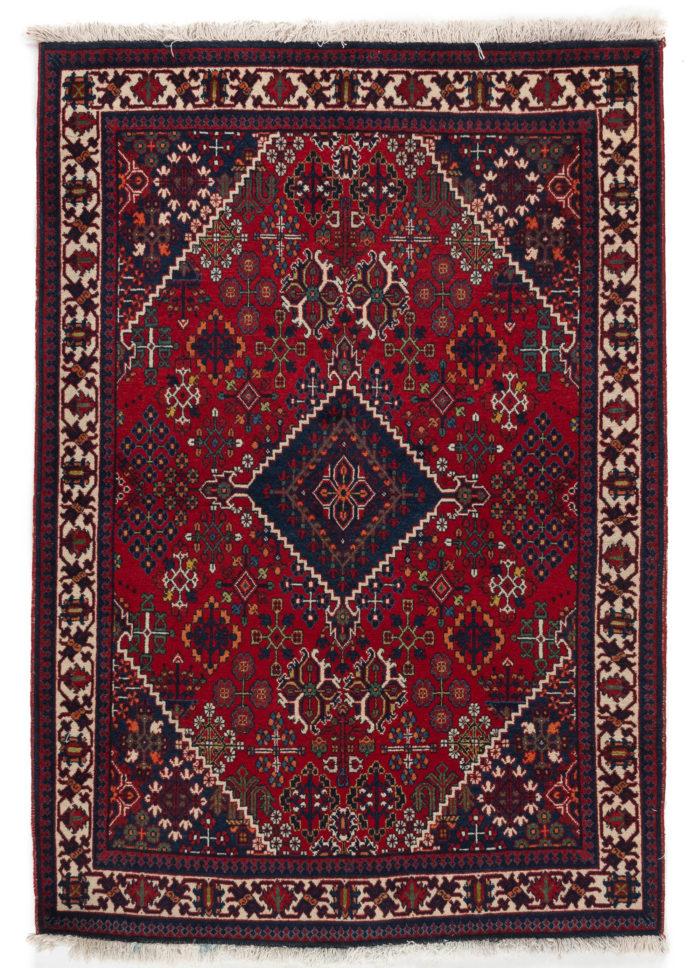 """Semi-Antique Persian Josheghan 3'7""""×5'1"""""""
