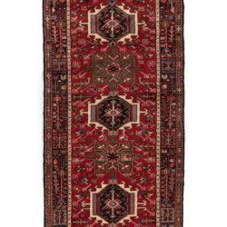 "Semi-Antique Persian Karadja 3'5""×9'1"""