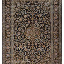 """Semi-Antique Persian Kashan 9'2""""×12'10"""""""