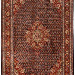 "Semi-Antique Persian Kazvin 8'8""×12'2"""