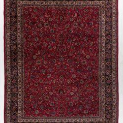 """Semi-Antique Persian Meshad 9'11""""×12'8"""""""