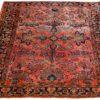 """Semi-Antique Persian Sarouk 4'2""""×6'4"""""""