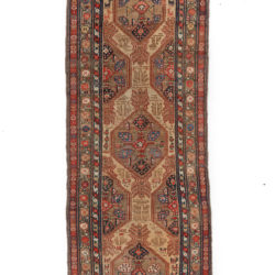 "Semi-Antique Persian Serab 3'5""×11'0"""