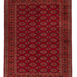 "Semi-Antique Persian Turkman 6'10""×9'1"""
