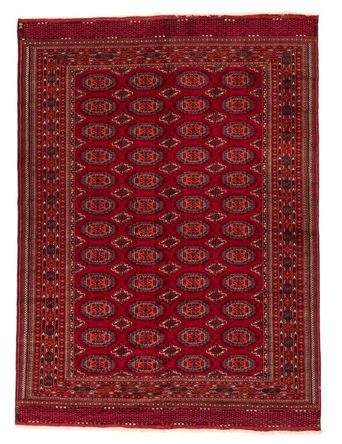 "Semi-Antique Persian Turkman 6'10""×9'1"""
