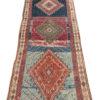 "Semi-Antique Turkish Yoruk Calias Size Rug 4'3""×16'2"""