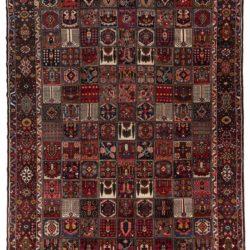 "Semi-antique Persian Bakhtiari 11'6""×15'8"""