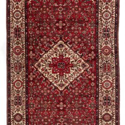"Semi-antique Persian Hamadan 5'5""×10'7"""
