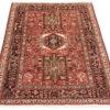 "Semi-antique Persian Karadja 5'0""×6'4"""