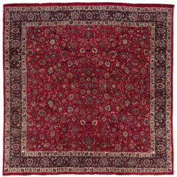 """Semi-antique Persian Meshad 13'4""""×13'2"""""""