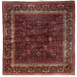 "Semi-antique Persian Sarouk 11'7""×12'0"""